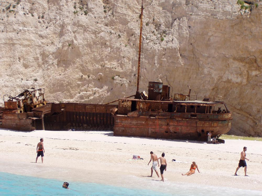 Shipreck in Navagio B.